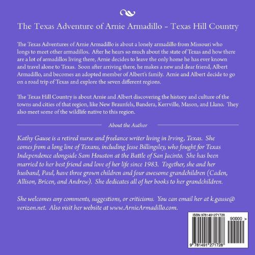 The Texas Adventure of Arnie Armadillo - Texas Hill Country: Volume 5
