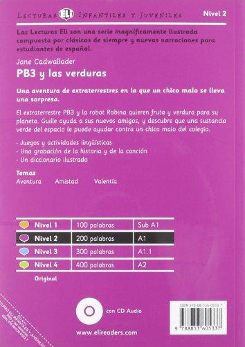 PB3 y las verduras. Con espansione online. Per la Scuola media (Young readers)