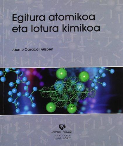 Egitura atomikoa eta lotura kimikoa (Vicerrectorado de Euskara)
