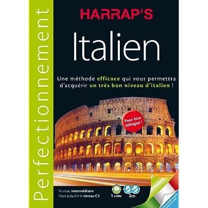 Harrap's méthode Perfectionnement Italien 2CD + livre
