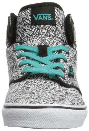 Vans Y ATWOOD HI VVH1AWT Unisex-Kinder Sneaker Schwarz (Black)