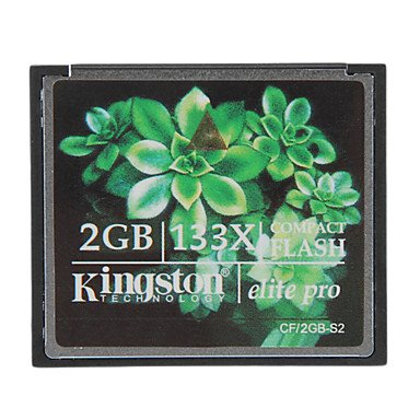 mklife. Kingston 2GB Elite Pro 133X Compact Flash CF-Speicherkarte