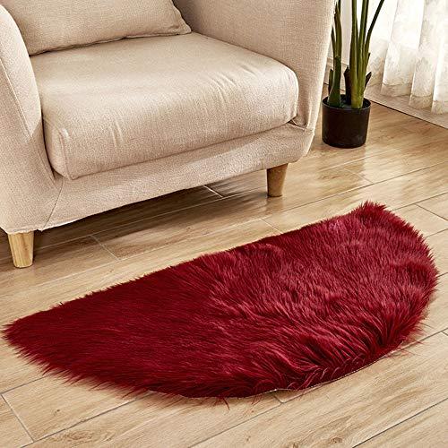 Rokoy adoro coperta di lana imitazione pelle di pecora, pelliccia sintetica decorativa pelliccia morbida pelliccia di agnello camera da letto antiscivolo