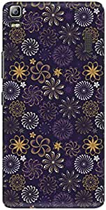 The Racoon Lean printed designer hard back mobile phone case cover for Lenovo A7000. (Violet Flo)