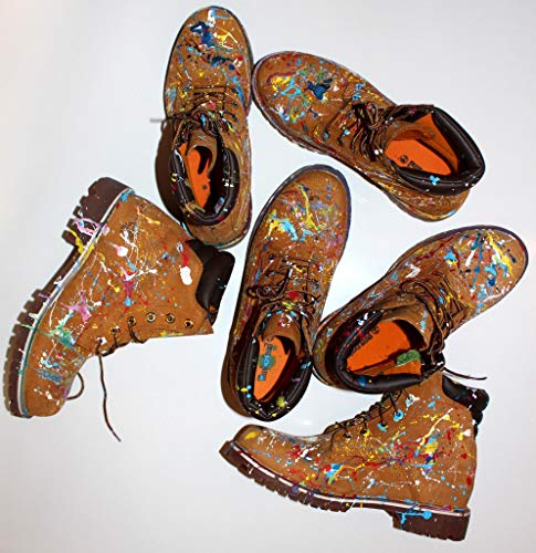 Custom Painted Timberland 6 Inch Boots stiefel