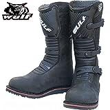 Stivali da Moto: Mens Nuovo Stile WULFSPORT TRAIL ENDURO Off Road...