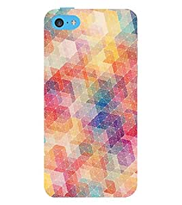 printtech Abstract Design Back Case Cover for Apple iPhone 5S