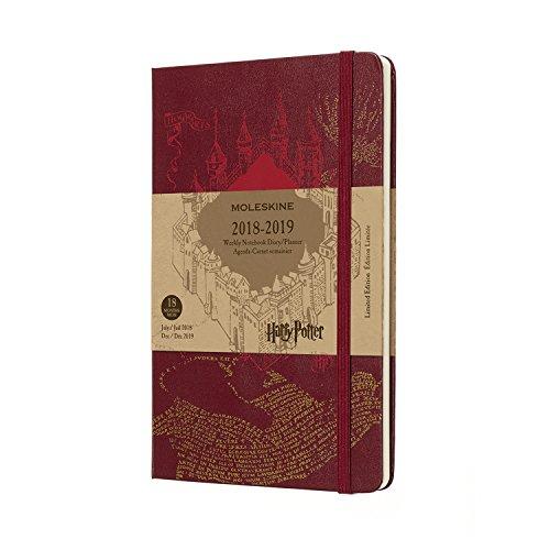 Moleskine DHP18WN3Y19 - Libreta semanal 18m de edición limitada Harry Potter, grande, color beige 6