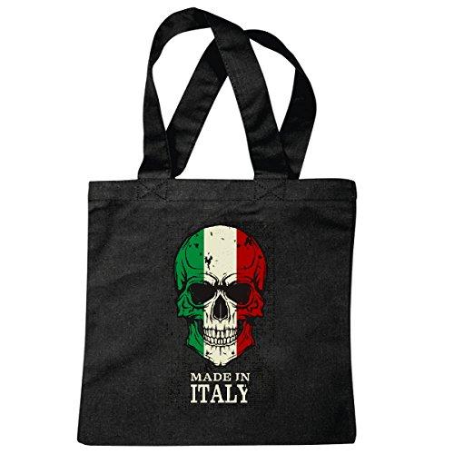 bolsillo-bolso-bolsa-italia-craneo-bandera-de-italia-craneo-del-motorista-rocker-bella-italia-craneo