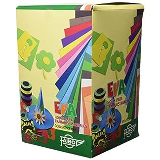 85d092b0aaa Faibo 653EXP – Expositor de 100 láminas de goma Eva formato 20 x 30 cm