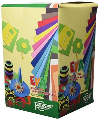 Faibo 653EXP - Expositor 100 láminas goma Eva formato