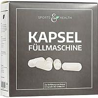Preisvergleich für Kapselfüllmaschine | Kapselfüller | Kapselfüllgerät | Kapselgröße: 00 | deutsche Analyse über Lebensmitteltauglichkeit...
