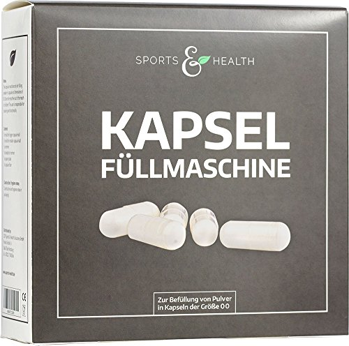Kapselfüllmaschine | Kapselfüller | Kapselfüllgerät | Kapselgröße: 00 | deutsche Analyse über...