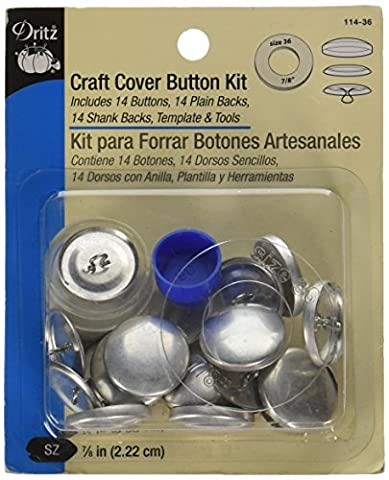 Dritz verschiedenen Craft Cover Button kits-size 3614/Pkg