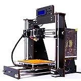 3D Drucker, Zr-Printing Prusa I3 Pro Hohe Präzision MK8 Düse 3D Drucker Desktop DIY Kit mit 1,75mm Filament, Keine notwendigkeit, Das Holz (200 * 200 * 180mm)