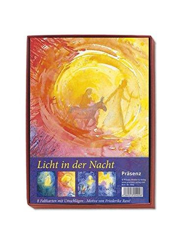 KK-Box Licht in der Nacht: 8 Faltkarten mit Umschlägen von Friederike Rave