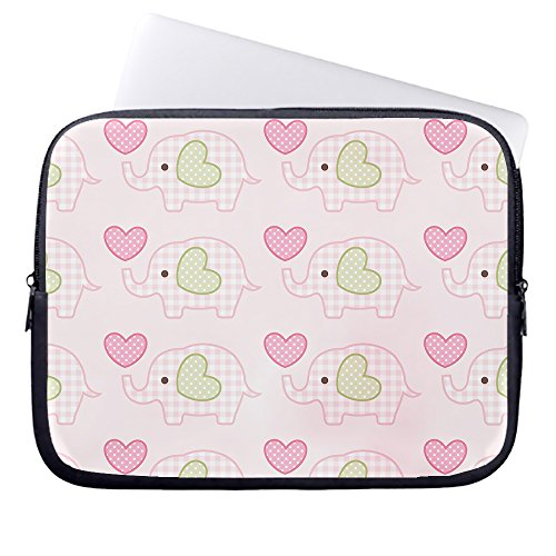 whiangfsoo-cute-baby-elephant-pink-neoprene-sleeve-case-bag-pouch-carrying-holder-protector-for-lapt