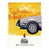 Fabulous Poster Affiche Retour vers Le Futur Premier Film