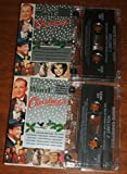 WHITE CHRISTMAS. RARE 1992 50 TRACK DOUBLE AUDIO CASSETTE TAPE SET. OVER 2 HOURS OF MUSIC.