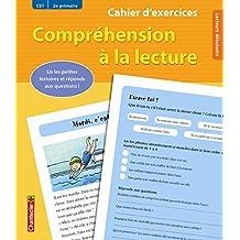 Cahier d'exercices Compréhension à la lecture (CE1 2e primaire) (jaune)