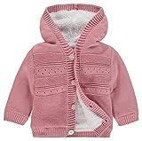 Noppies Baby-Mädchen Strickjacke G Cardigan Knit ls Valentijn, Rosa (Rose C096), 80