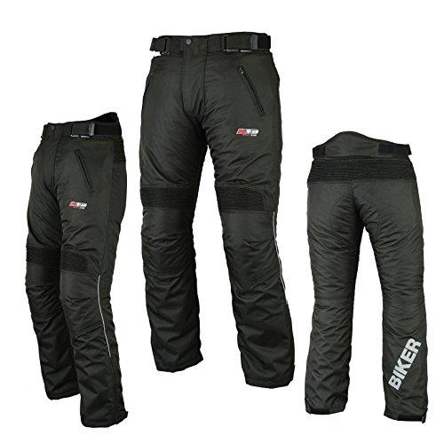 KYB Biker Pantalone Termico Impermeabile Motocicletta Tessile CE Blindata  Hi visibile riflettore