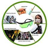 Hanbaili Laser-Schutzbrille, Schutzbrille Laser-Schutzbrille Schutzbrille (grün)