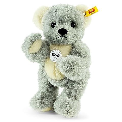 Steiff Adoni Teddy Bear Plush Toy (Grey/White)