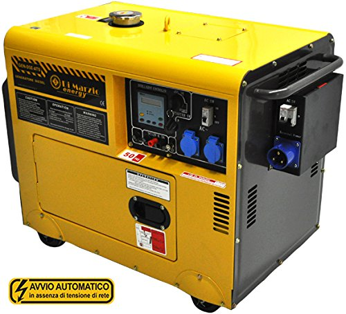 Generatore di corrente da 5kw con ats - gruppo elettrogeno