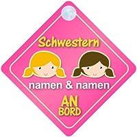 Pr/äsentieren Baby on Board Autoschild /… Prinz Vincent An Bord mit Krone Personalisierte Autokennzeichen Neues Baby Junge Kind Geschenk