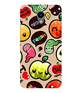 Fabcase Hungry caterpillar with tamato Designer Back Case Cover for Meizu M2