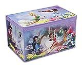 Spielzeugbox - Spielzeugkiste - Aufbewahrungskiste - Stoffbox mit großen Stauraum (Fairies)