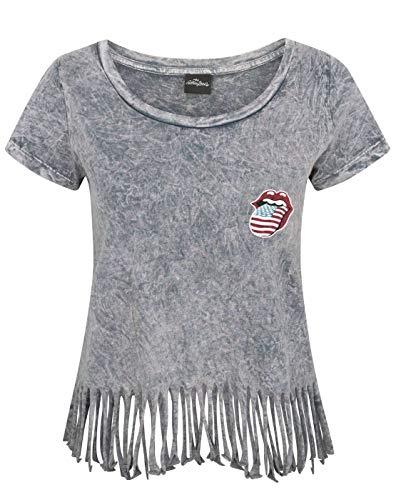 Rolling Stones The Women's Fringe T-Shirt (S)