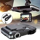 Best Radar Laser Detectors - 2 In 1 HD Car Camera DVR Dash Review