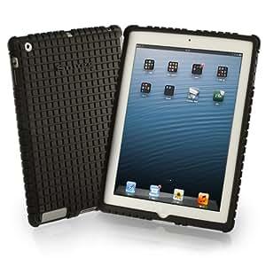 Snugg iPad 2, iPad 3 & iPad 4 Silikonhülle aus schwarzem, rutschfesten Material. Schützt Ihr iPad und fühlt sich angenehm weich an Für Apple iPad 2, iPad 3 & iPad 4.