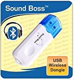 #5: Sound Boss BT-03 USB Bluetooth Receiver Dongle with Mic (White)
