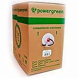 Powergreen - Bobina de cable cat 6 utp 305 metros para exterior