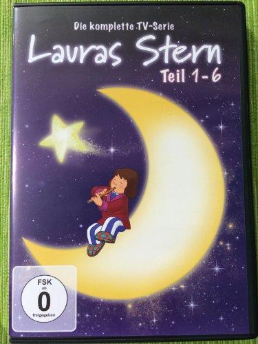 Lauras Stern Teil 1+2+3+4+5+6 Die komplette TV-Serie [6 DVDs]