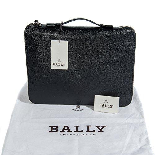 bally-herren-schwarz-glanzend-texturierte-leder-aktentasche-handtasche