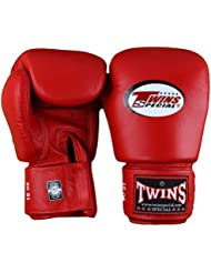 Twins Special Red Boxing Gloves 14oz
