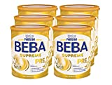 Nestlé BEBA SUPREME Pre, Anfangsmilch von Geburt an, Pulver, 6 x 800g Dose