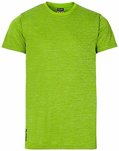 Erima t-shirt de course pour femme Vert - Lemon Green Melange