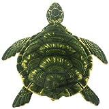 TAGLN Stofftiere Meeresschildkröte Weiche Plüschtiere Kissen Schildkröte (50 CM, Grün)