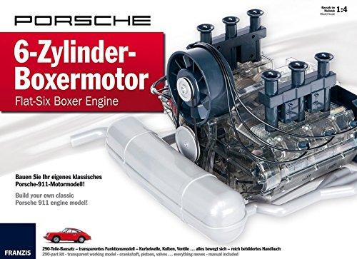 Porsche 6-Zylinder-Boxermotor - Flat-Six Boxer Engine: Bauen Sie Ihr eigenes klassisches Porsche-911-Motormodell | Build your own classic Porsche 911 engine model! | Ab 14 Jahren (Flat Motor)