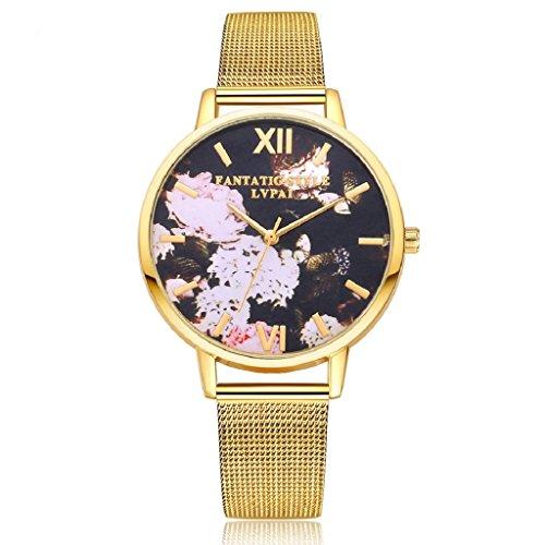 overdose-women-stainless-steel-band-floral-quartz-wrist-watch