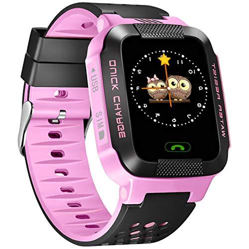 Rosepoem - GPS-Uhr Telefonanruf Datenkabel Telefonuhr, Remote Self Shot (Digitale Uhr Kind)