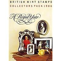 1986Collectors year Pack–Confezione di presentazione di Royal Mail Mint Stamps
