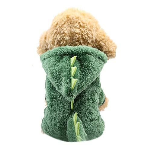 Hund Kostüm,Covermason Hunde Pullover Haustier Kleider Hündchen Rundhals Hemd Dinosaurier ()