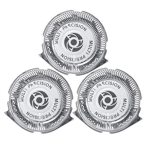 smileyshy Rasierkopf, 3 STÜCKE Kopf-Rasiermesser Für Philips 5000 Series Razor SH50 / 51/52 HQ8 -