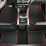 SHITI Universal Auto Fußmatten Teppich für Boxster Cayman Panamera 911 Cayenne 2 Demio RX- 8 Auto Matte